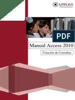 4- UTN FRBA Manual Access 2010 - Creaci+¦n de Consultas