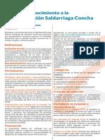 Premios Inclusión y Reconocimiento Elvira Saldarriaga Concha