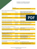 PGE Academic Calendar 2019-2020 Students