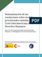 sistematizacion corte interamericana
