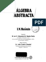 Algebra Abstracta I N Herstein