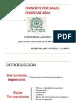 Conservacion Por Bajas Temperaturas