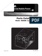 981-0273B Onan HDKBB (Spec a-B) Diesel Genset Parts Manual (11-2003)