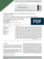 [OK[ Wilson Et Al 2015 Wasteware Benchmark Indicators for Integrated