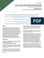 3b_How to Write an SAE International Technical Paper FINAL Sept. 2014