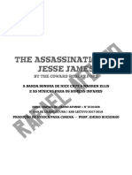 Assassination of Jesse James — Trabalho Final WM