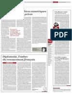 Diplomatie, l'Ombre (250 Mots)