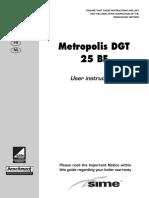 SIME_Metropolis DGT 25 User