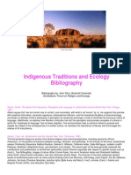 Indigenous Traditions and Ecology Bibliography