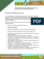 Plan de Fertilización Agroecologica
