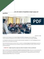 Moquegua_ Asistenciales de Centros de Salud y Hospitales Exigen Pago Por Guardias _ Sociedad - La República