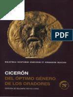 Ciceron, Marco Tulio. - Del Optimo Genero de Los Oratores [Bilingue] [2018]