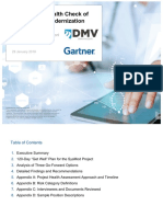 Gartner Final Health Check Report and Recommendations