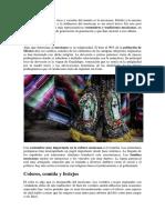 Costumbre y Tradiciones Mexicana