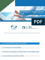 Programa Integral para la crisis - Fundación Capital