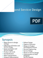 Product and Service Design-2