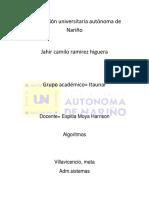 INVESTIGACION C++ JAHIR RAMIREZ ITAUNAR.docx