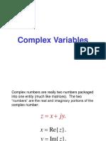 Complex Variables.ppt