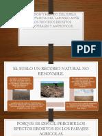 Erosion y Manejo Del Suelo