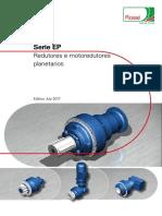 Catalog EP Redutores e Motorredutores Planetarios Edition July 2017 Português