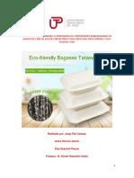 Exportacion de envases biodegradables