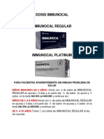 Dosis Immunocal