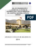 Mof -Oficina de Epidemiologia y Saneamiento Ambiental 2014