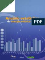 Anuário Estatístico de Energia Eletrica 2012