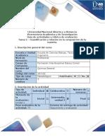 - Cuantificación y relación en la composición de la materia