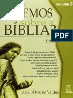 Que Sabemos Sobre a Bíblia 3