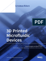 3D Printed Microfluidic Devices