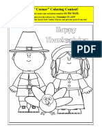 11. November 2019 Kids Corner Flyer