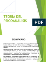 TEORÍA DEL PSICOANÁLISIS