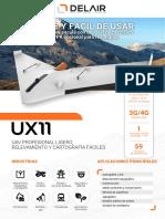 Datasheet Delair UX11 Jun2018VB SPA