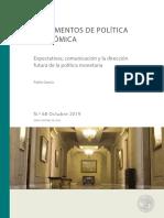 DOCUMENTOS DE POLITICA ECONOMICA