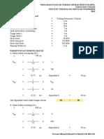 Perhitungan Balok SRPMK