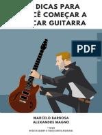eBook 10 Dicas Para Voce Comecar a Tocar Guitarra Mbga