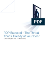 RDP Exposed - The Threat That's Already Ay Your Door