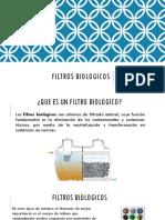 FILTROS BIOLOGICOS