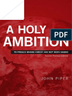 SAMPLE - A Holy Ambition - John Piper - Desiring God