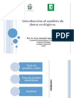 Introduccion Al Analisis de Datos Ecológicos