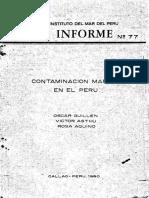 Contaminacion Marina en El Perú