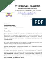 Federacion venezolana de ajedrez