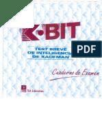 K-BIT Cuaderno de Examen