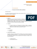 COT-10092-19 - Cotización de Transporte de No Peligrosos - Opción 1