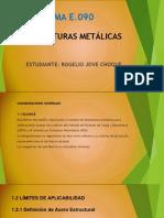 Norma E-90 Estructuras Metalicas