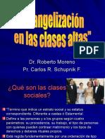 Evangelización en Las Clases Altas.