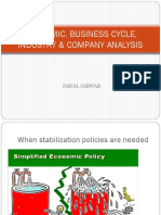 Business Cycle _ Industry Analysis
