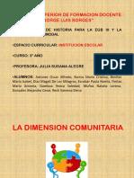 59199681 La Dimension Comunitaria