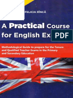 A Practical Course for English Exams. Methodological Guide - Rinca Felicia (1)